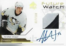 2006-07 SP Authentic Future Watch Limited Auto - Jordan Staal RC /100
