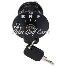 Golf Cart Ignition Key Switch EZGO RXV Electric 2008 and Up Uncommon Key 609692
