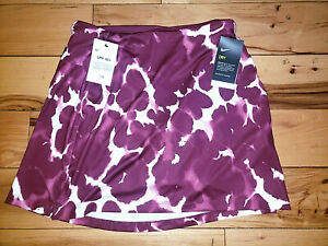 Womens Nike Golf Skort Skirt Colorful UPF 40+ Athletic New NWT $75