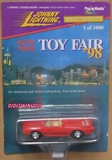 JOHNNY LIGHTNING HONG KONG TOY FAIR '98 RED LIMITED EDITION W+