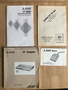 Atari ST Computer BOOKLETS / leafletS Job Lot