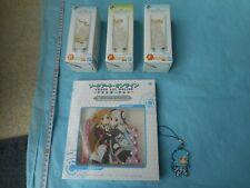 japan anime manga Sword Art Online Glass 3set /  Acrylic stand set (y1 382