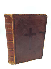 THE BOOK OF COMMON PRAYER - leatherbound - 1879 - Episcopal