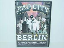 "*****DVD-VARIOUS ARTISTS""RAP CITY-BERLIN""-2005 Mantikor Entertainment*****"