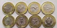 Set 7 coins 100 tenge Treasures of Steppe Jeti Qazyna Kazakhstan 2020