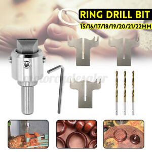 Multifunction Wooden Ring Drill Bit Cutter Mill Maker  Woodworking Hig