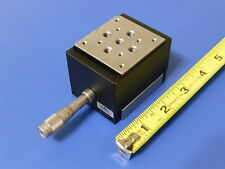 Newport M-MVN50 Vertical Translation Stage / Lab Jack w/ BM11.16 Micrometer