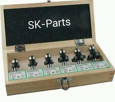 Edessö HW Abrundfräser mit Anlaufring 6 teilig Satz Schaft 8mm SK5480700 Fräser