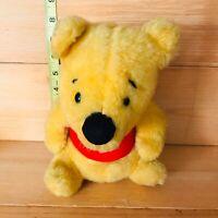 Vintage Winnie The Pooh Walt Disney Sears Wind Up Musical Plush Toy Gund Tested