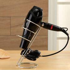 Hair Salon Spiral Blow Holder Stand Flat Iron Desk Mount Chrome Stainless Steel