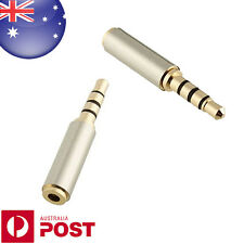 Female 2.5mm To 3.5mm Male Plug Earphone Audio Adapter TRRS - Z582