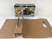 brand new star wars dewback box and inserts
