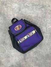 Vintage 90s LOONEY TUNES Space Jam Backpack Bag HIPHOP Jordan SideBag Roundtwo