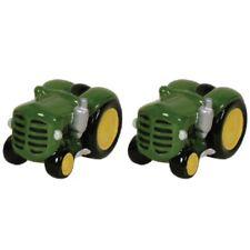 Green Tractor Salt and Pepper Shakers Novelty Salt & Pepper Shakers