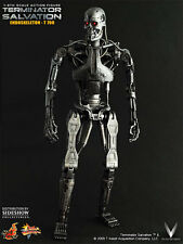 1/6 Scale Hot Toys MMS94 Terminator Salvation Endoskeleton T-700 (Brand New)