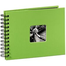 Spiral Bound Green 24 x 17 cm Photo Album Case Book 50 Pages 6x4 '' Photos