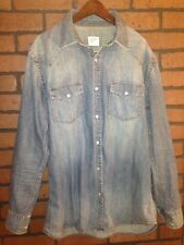Denim Shirt Old Navy Size M
