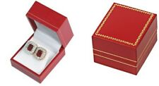 Wholesale 48 Classic Red Leatherette Earring Jewelry Display Gift Boxes