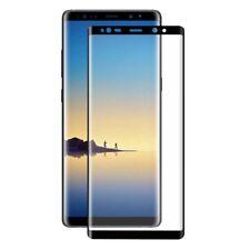 Samsung Galaxy Note 8 3D Panzer Glas 9H Display Schutzfolie Hüllen Case Schwarz