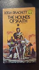 "Leigh Brackett, ""Hounds of Skaith,"" 1976, Ballantine 25586, VG"