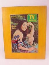 Lucille Ball, Lucie Cover TV Magazine Plaque & Wedding Article Signed COA, Video