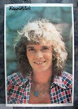 """PETER FRAMPTON Original 1977 23 x 35"""" Headshot Poster #553"""
