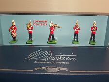 BRITAINS 00157 CEREMONIAL BAND OF THE LIFEGUARDS METAL TOY SOLDIER FIGURE SET