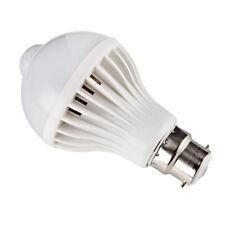 2 Pcs Motion Sensor Control Auto 7w/9w B22 LED Lamp Bulb Energy Saving Light It 7w