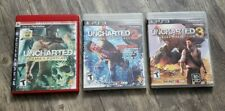 Uncharted 1, 2 & 3 Trilogy for PlayStation 3 PS3 Games Bundle Series