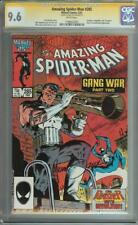 AMAZING SPIDER-MAN #285 SS CGC 9.6 SIGNED MICK ZECK PUNISHER CLASSIC COVER ROSE