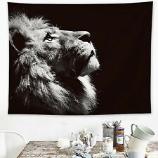 Art Lion Tapestry Wall Hanging Throw Cover Beach Blanket Bedspread Home Decor