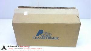 ACME ELECTRIC T253011S, TRANSFORMER, 240V, 60HZ, 1 PHASE, 1.5KVA, NEW #251099