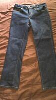 Lands End Blue Jeans.  Size 4 Petite