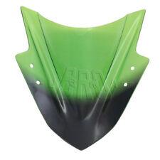 Green ABS Plastic Windscreen Windshield Screen for Kawasaki NINJA300 EX300 13-17
