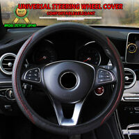 Universal 37-39cm Steering Wheel Cover Anti-Slip Auto Car Truck Steering Wheel