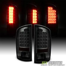 Smoke 2002-2006 Dodge Ram 1500 2500 3500 Lumileds LED Tail Lights Set Left+Right