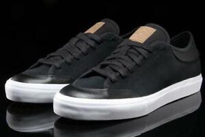 adidas Originals Mens Matchcourt RX2 Skate Shoes Core Black / Cardboard / White