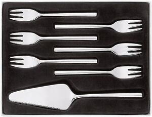 STELLAR Rochester Polished 7 Piece Cake Serving Set. Dining/Tableware Cutlery.