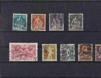 SWITZERLAND UNMOUNTED MINT   STAMPS &  BLOCKS ON 6 STOCK CARDS REF R769