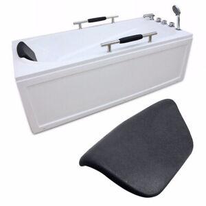 PU Bath Pillow Bathtub Head Rest Neck Support Back Comfort Tub Holder Cushion