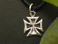 Eisernes Kreuz 925'er Silber Kleiner Ketten Anhänger   / KA 110