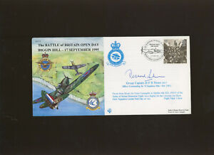1995 The Battle of Britain Biggin Hill  cover signed by Group Captain D F Sheen