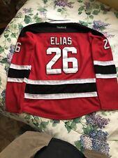 Elias # 26  New Jersey Devils Hockey Jersey  L/XL