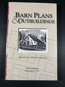 BARN PLANS & OUTBUILDINGS by Byron Halstead Reprint 1999