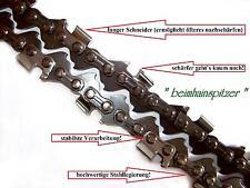 2 x Sägekette 25 cm 3/8 x 1,1 für Kettensäge Dolmar ES31A, ES36A, ES40A, PS34
