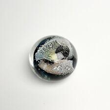 Leon Applebaum Signed Blown Art Glass Paperweight