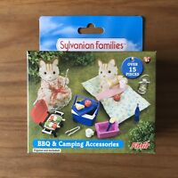 Sylvanian Families Flair 4369 Barbecue BBQ and Camping Accessories Set RARE BNIB