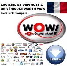 LOGICIEL DE DIAGNOSTIC DE VÉHICULE WURTH WOW 5.00.8r2 français TÉLÉCHARGEMENT