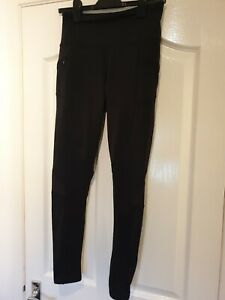 WOMENS AURIQUE ACTIVEWEAR LEGGINGS - RUNNING GYM YOGA ETC - LARGE - NEW