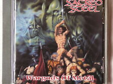 SACRED STEEL``Wargods of Metal´´First Press CD von 1998 Metal Blade Records